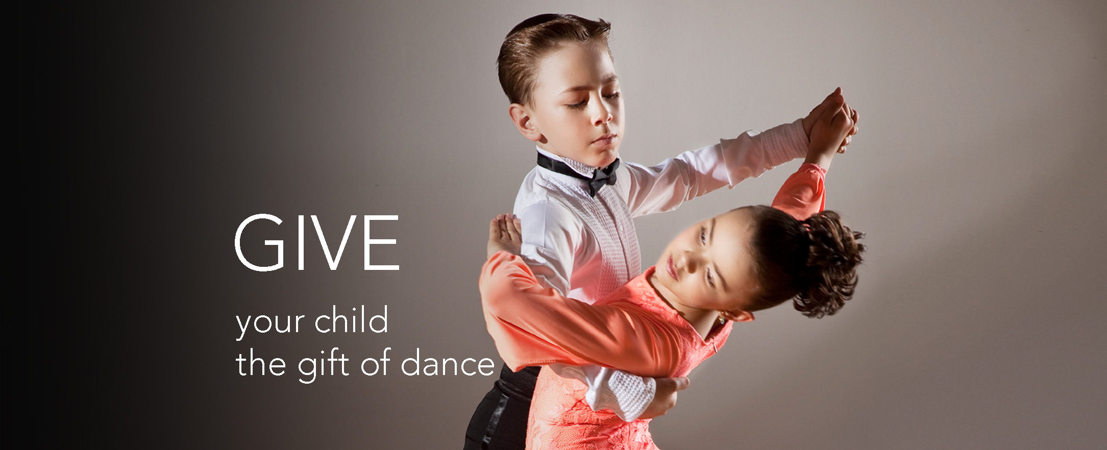 Give your child the gift of dance.