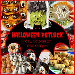 Halloween Potluck Ad