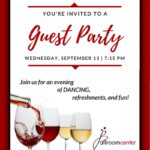 Guest Party Invitation