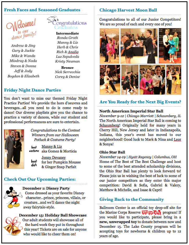 November 2017 Newsletter Page 2