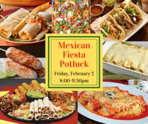 Mexican Fiesta Potluck