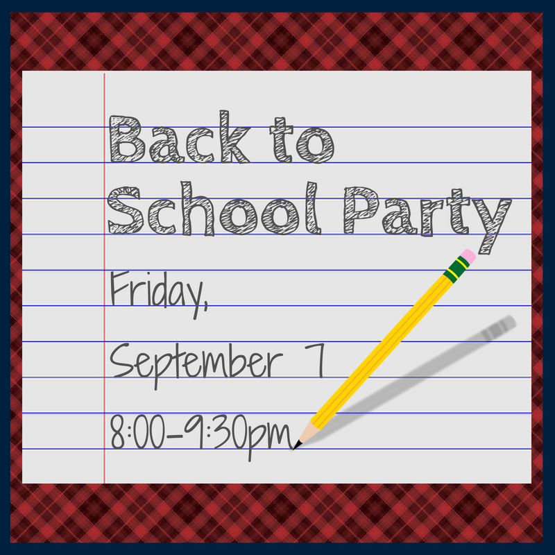 Back to School Party Image