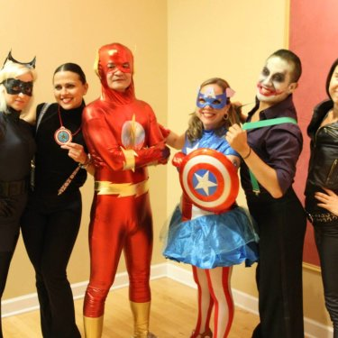 Superhero Party 2015